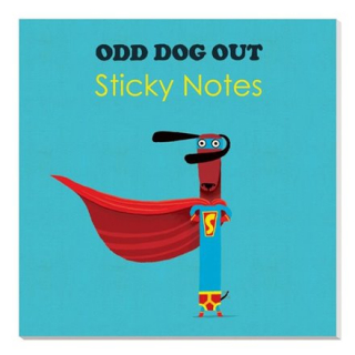 Image of Sticky Notes : Odd Dog Out