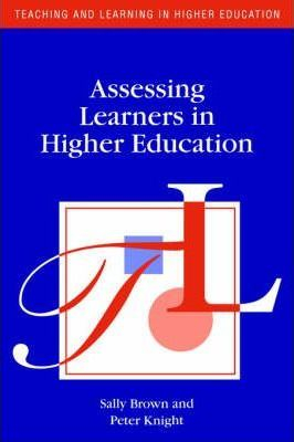Image of Assessing Learners In Higher Education