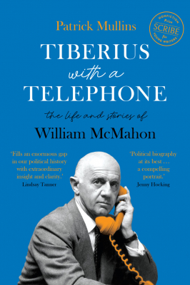 Image of Tiberius With A Telephone