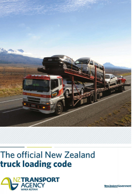 Image of Official New Zealand Truck Loading Road Code 2017