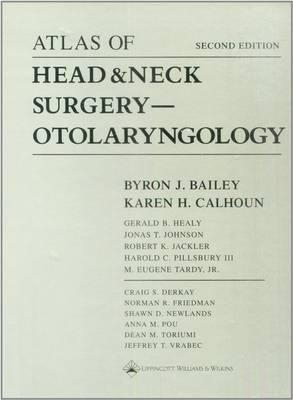 Image of Atlas Of Head & Neck Surgery : Otolaryngology