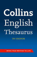 Image of Collins English Thesaurus