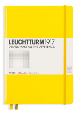 Image of Journal Leuchtturm 1917 Medium Squared Lemon
