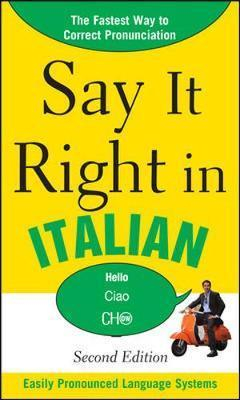 Image of Say It Right In Italian