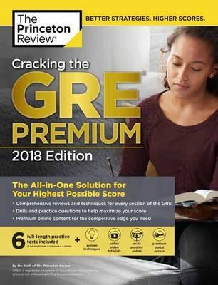 Image of Cracking The Gre : Premium 2018 Edition