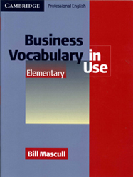 Business Vocabulary In Use Elementary With Key