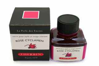 Image of Ink Herbin Bottle 30ml Rose Cyclamen