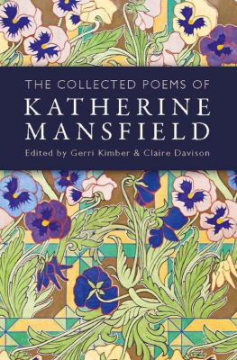 Image of Collected Poems Of Katherine Mansfield