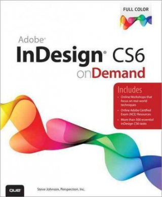 Image of Adobe Indesign Cs6 On Demand