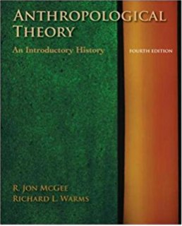 Image of Anthropological Theory : An Introductory History