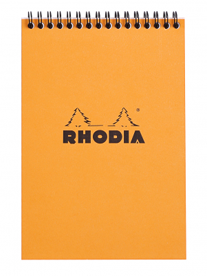 Image of Pad Bloc Rhodia Wiro A5 Lined Orange