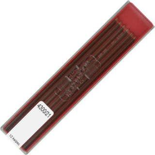 Image of Leads Technical Pencil 2mm Koh-i-noor Coloured Brown