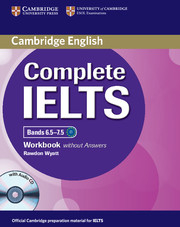 Image of Complete Ielts : Bands 6.5 - 7.5 Workbook Without Answers + Audio Cd