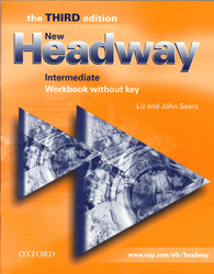 Image of New Headway : Intermediate : 3rd Edition : Workbook Without Key