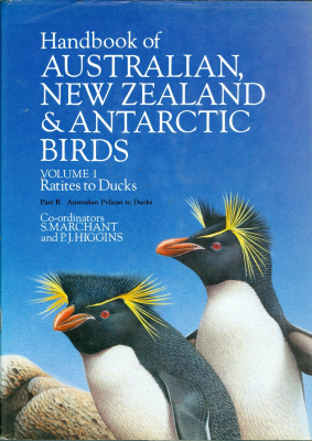 Handbook Of Australian Nz & Antarctic Birds Vol 1 : Ratites To Ducks
