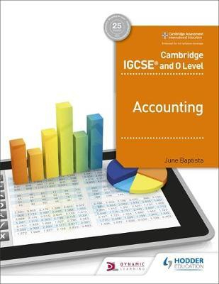 Image of Cambridge Igcse And O Level Accounting