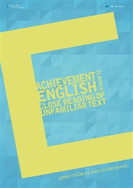 Achievement English @ Year 13 : Close Reading Of Unfamiliar Text