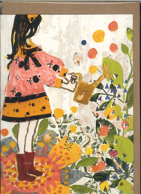 Image of Watering With Love : Greeting Card