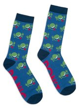 Image of The Hitchhiker's Guide To The Galaxy : Unisex Large Socks