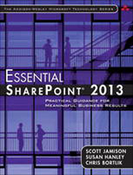Image of Essential Sharepoint 2013 : Practical Guidance For Meaningful Business Results