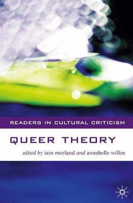 Image of Queer Theory Reader In Cultural Criticism
