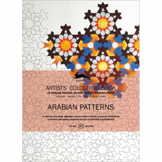 Arabian Patterns Artists' Colouring Book