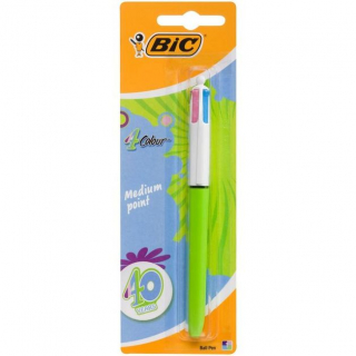 Image of Pen Bic 4 Colour Fashion Hangsell