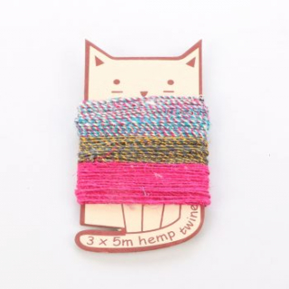 Image of Cat Shape Twine Pack : Trade Aid