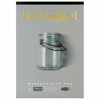 Image of Pad Bockingford Watercolour A4 300gsm