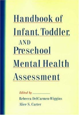 Image of Handbook Of Infant Toddler And Preschool Mental Health Assessment