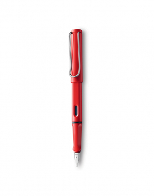 Image of Pen Lamy Safari Fountain Red