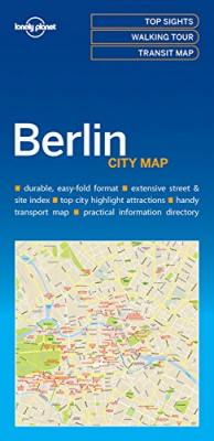 Image of Berlin City Map : Lonely Planet