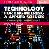 Image of Technology For Engineering And Applied Sciences : Class Audio Cd : Oxford English For Careers