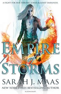 Image of Empire Of Storms : Throne Of Glass Book 5