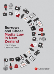 Image of Burrows And Cheer On Media Law In New Zealand