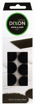 Image of Velcro Dixon Hook And Loop Spot 22mm 12 Pack