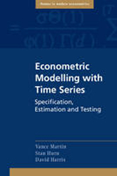 Image of Econometric Modelling With Time Series Specification Estimation & Testing
