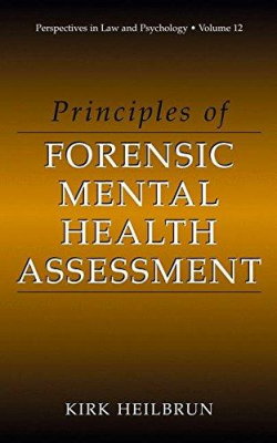 Image of Principles Of Forensic Mental Health Assessment