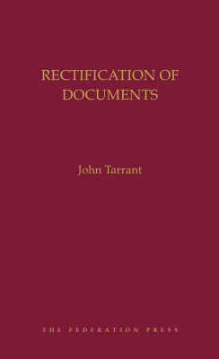 Image of Rectification Of Documents