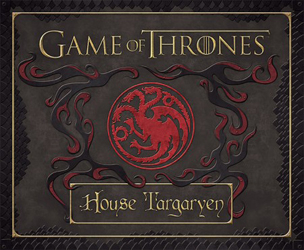 Image of Game Of Thrones : House Targaryen Deluxe Stationery Set