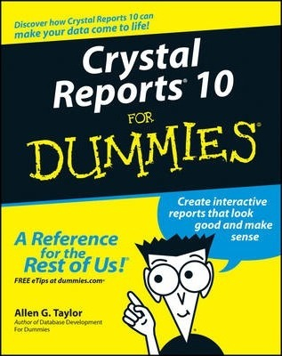 Image of Crystal Reports 10 For Dummies - Online Resource