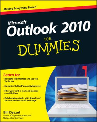 Image of Outlook 2010 For Dummies