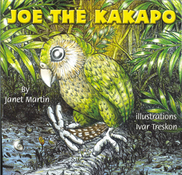 Image of Joe The Kakapo