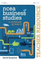 Image of Ncea Business Studies : A Workbook Level 2 : Teacher Resource