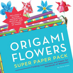 Image of Origami Flowers Super Paper Pack