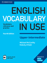 Image of English Vocabulary In Use : Upper-intermediate With Answers + Enhanced Ebook Vocabulary Reference And Practice