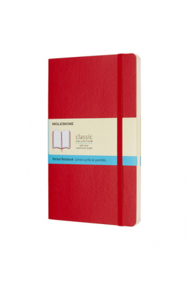 Image of Journal Moleskine Classic Sc Large Dot Scarlet Red