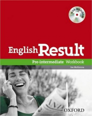 Image of English Result Pre Intermediate Workbook With Multirom Pack