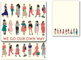 Image of Molly & Rex Notepads : We Go Our Own Way