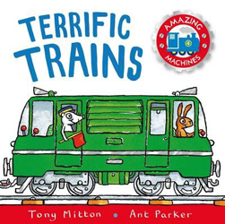 Amazing Machines : Terrific Trains